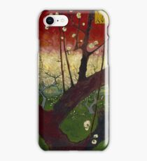 Vincent Van Gogh - Flowering plum orchard after Hiroshige, 1887 iPhone Case/Skin