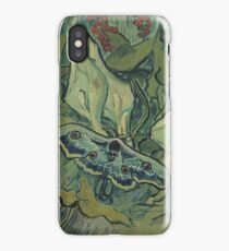 Vincent Van Gogh - Giant Peacock Moth, 1889 iPhone Case/Skin