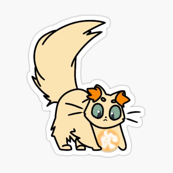 spiritfarer cat daffodil Sticker