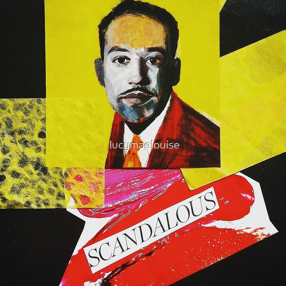 """Langston Hughes - Scandalous""  by lucymaelouise"
