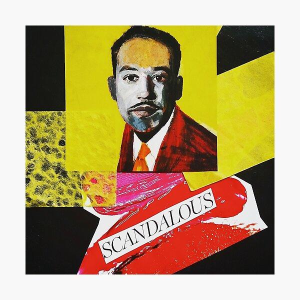 """Langston Hughes - Scandalous""  Photographic Print"
