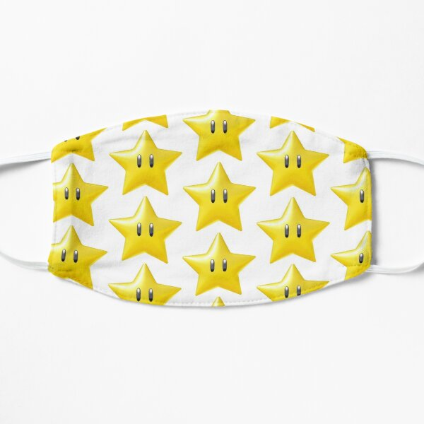 Estrella de Nintendo Mascarilla plana