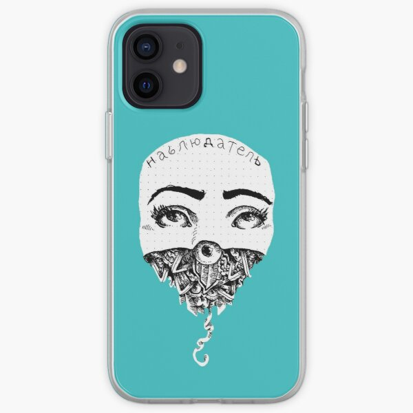 Observer TEAL iPhone Soft Case