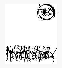 Small Severed Scissors Logo Photographic Print
