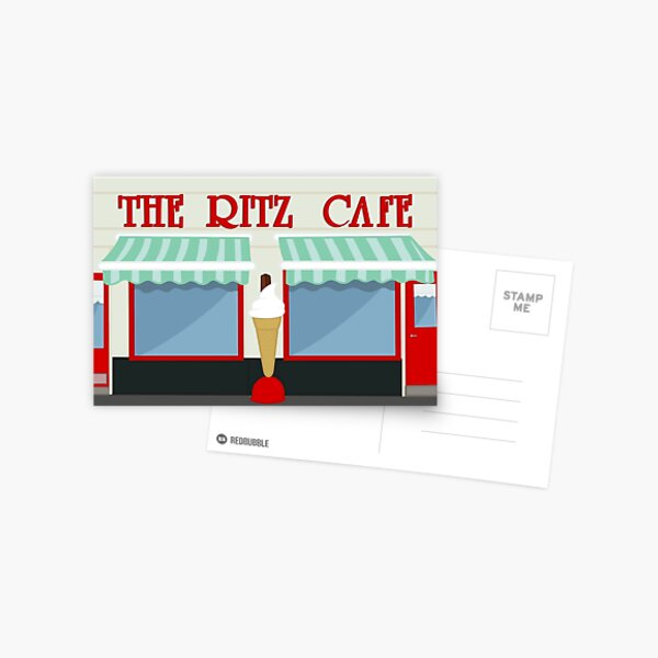 The Ritz Cafe, Millport Postcard