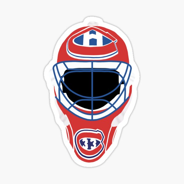 Patrick Roy Montreal Goalie Mask Sticker
