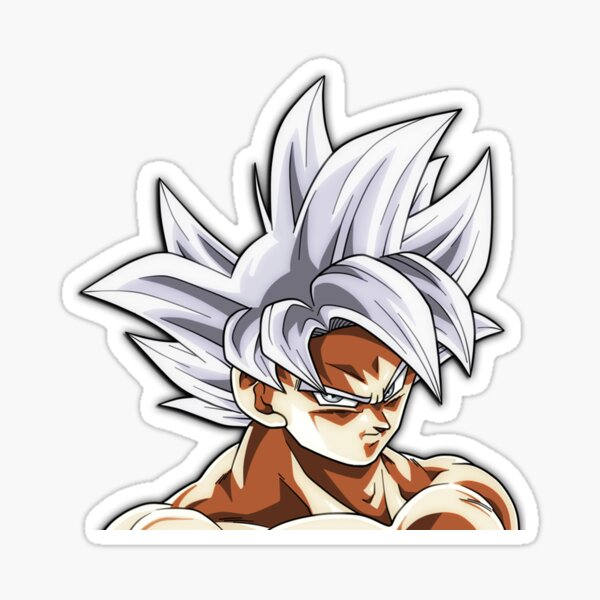 Ultra Instinct Goku - Dragon Ball Pegatina