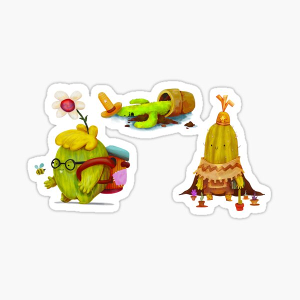 Learning To Grow Sticker Pack Sticker