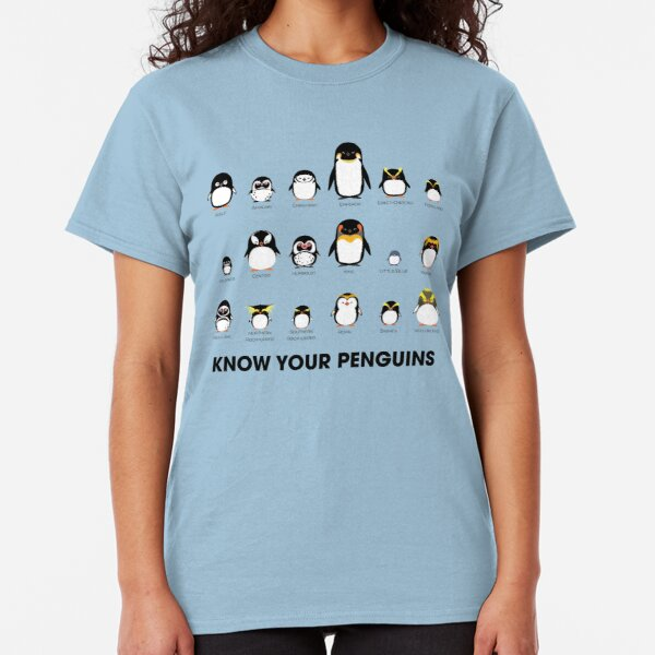 Know Your Penguins Classic T-Shirt