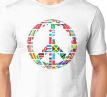 World Peace Love Unisex T-Shirt