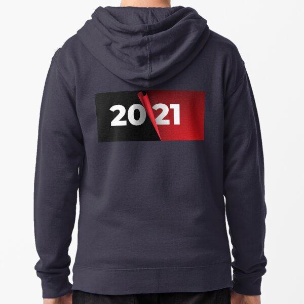 Happy New Year 2021 Zipped Hoodie