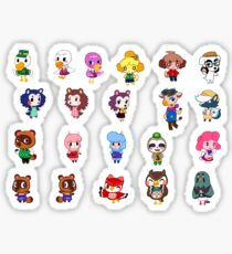 Animal Crossing- NPCS sheet Sticker