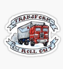 Roll Out Sticker