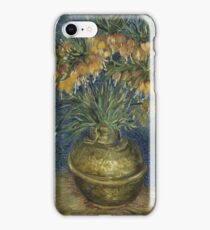 Vincent Van Gogh - Imperial Fritillaries in a Copper Vase, 1887 iPhone Case/Skin