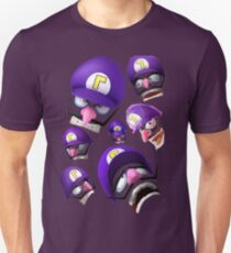 Waluigi Face Compilation T-Shirt