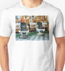 Corner Barber Shop Two Chairs Unisex T-Shirt