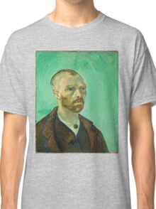 Vincent Van Gogh - Self-Portrait Dedicated to Paul Gauguin, 1888 Classic T-Shirt
