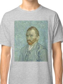 Vincent Van Gogh - Self-Portrait 2, 1889 Classic T-Shirt