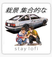 Initial LoFi Sticker