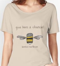 Give bees a chance! Women's Relaxed Fit T-Shirt