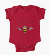 Give bees a chance! One Piece - Short Sleeve