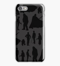 Print-cess Leia & Friends in Rows iPhone Case/Skin