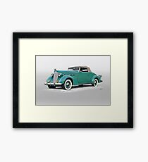 1937 Packard 120 Contvertible Coupe Framed Print