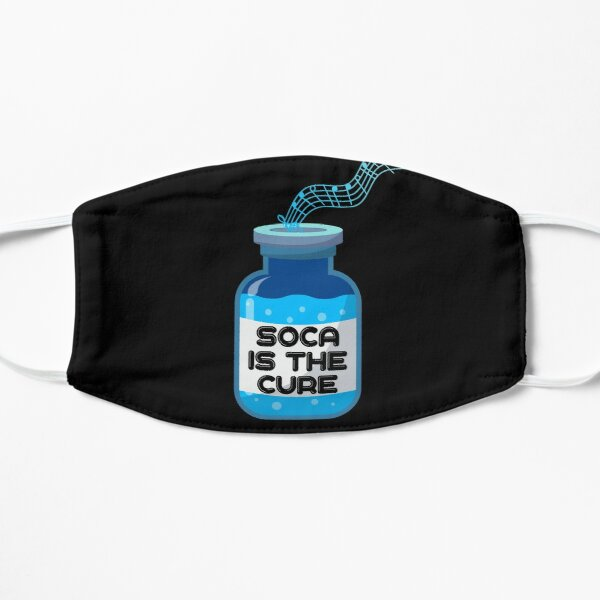 Soca Is The Cure 2021 Soca T-shirts and More Flat Mask