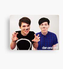 Dan & Phil / Danisnotonfire & AmazingPhil Leinwanddruck