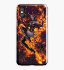 Fire of Halloween iPhone Case