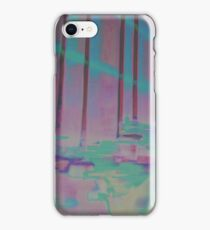 Palm House Orchids in Purple and Blue iPhone Case/Skin