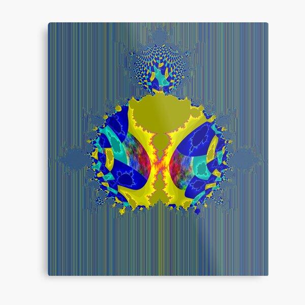 Meditation Mandelbrot Fractal Metal Print