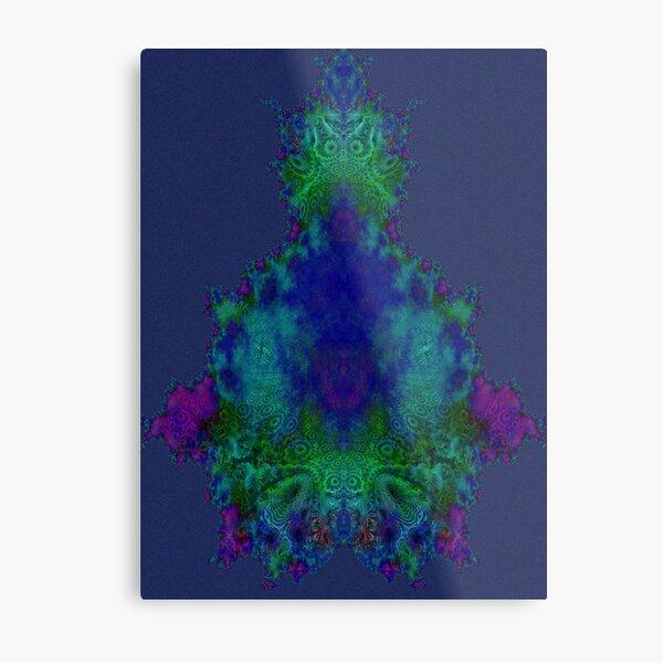 Meditation Mandelbulb Fractal Metal Print