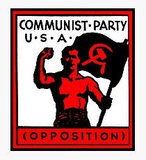 Communist Party USA Photographic Print