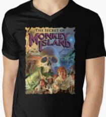 Monkey Island Men's V-Neck T-Shirt