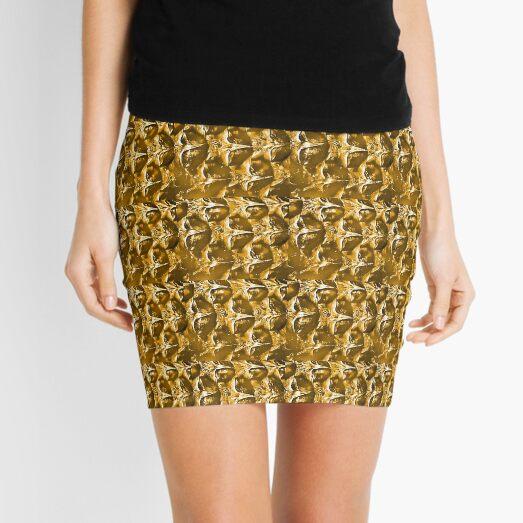 Sweet Gold Mini Skirt