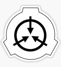 SCP Logo- Pack of 1 sticker Sticker