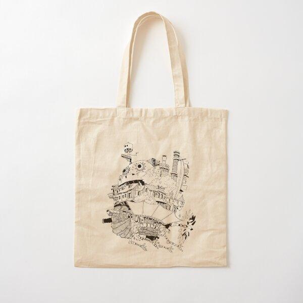 Howl's moving castle Cotton Tote Bag