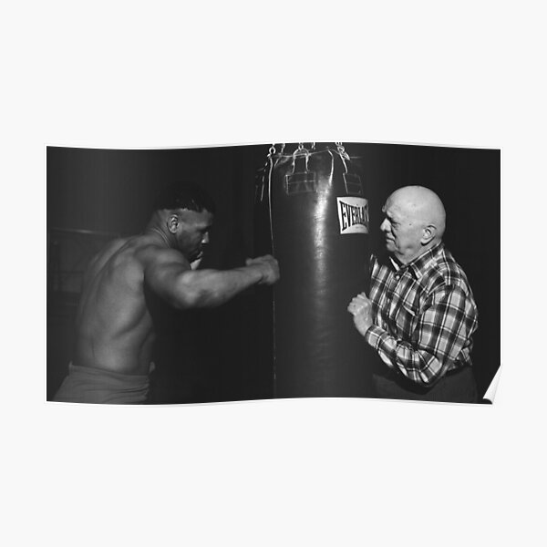 Mike Tyson Training Poster
