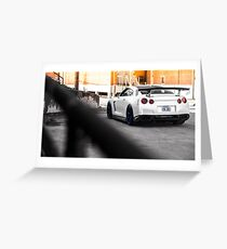 Nissan GTR Greeting Card