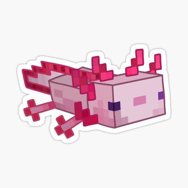 Minecraft Ajolote Pegatina