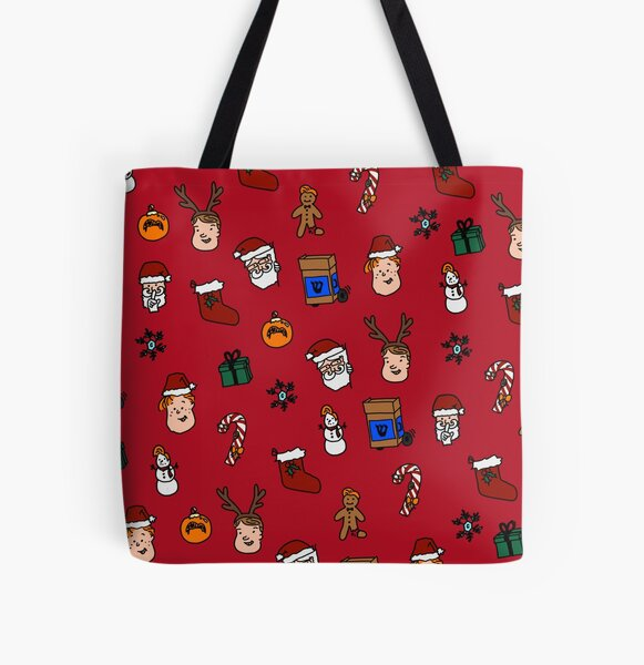 Team Coco Holiday  All Over Print Tote Bag
