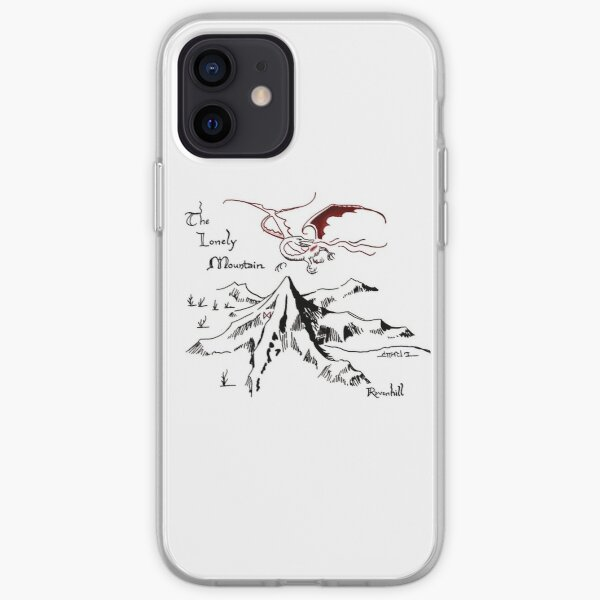 Dragon's Hoard in a Solitary Mountain iPhone Soft Case