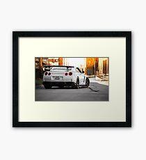 Nissan GTR  Framed Print