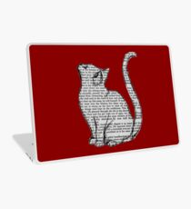 books and cats and books and cats Laptop Skin
