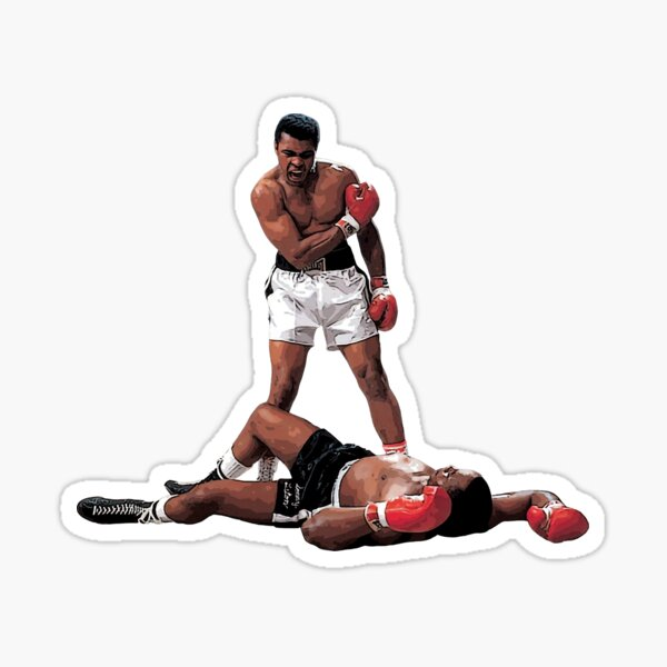 Mohamed Ali Sticker