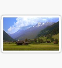 Alps - Stubai Valley, Austria Sticker
