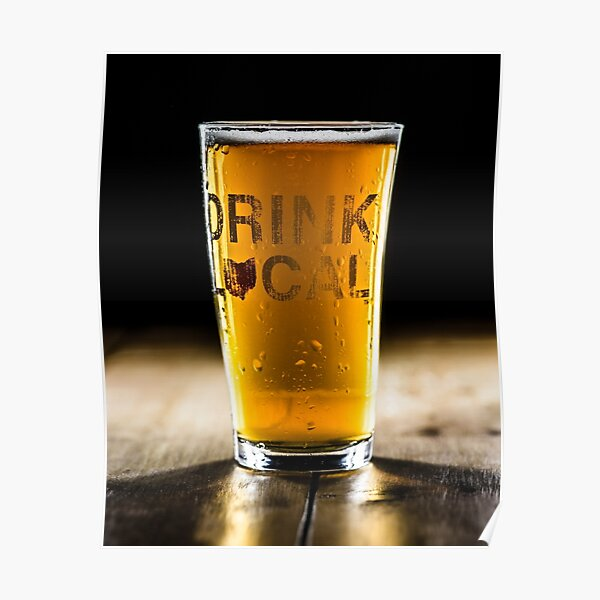 POSTER BEST BEER MINNEAPOLIS MN BREWERIES PALE LAGER DRINK VINTAGE REPRO FREE SH