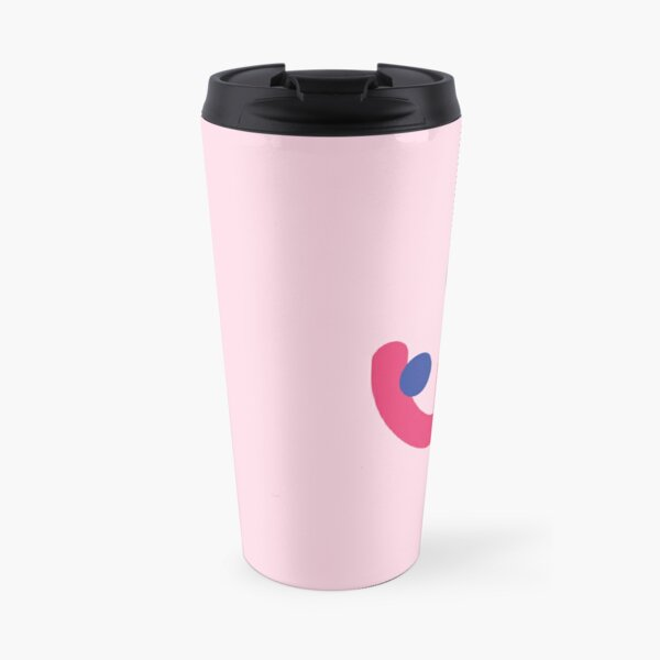 Rosa endometrioselogo  Travel Mug