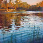 'Evening Reflections' - Goulburn River by Lynda Robinson